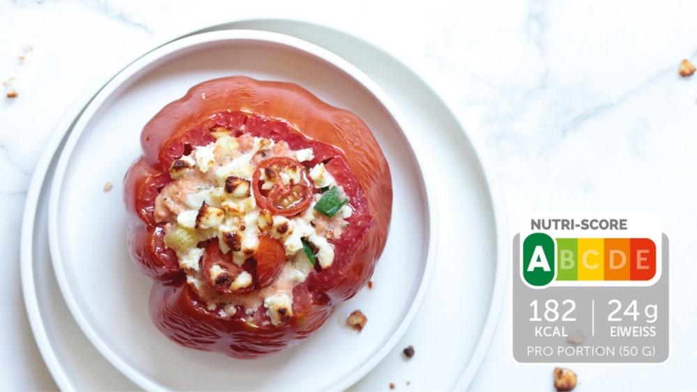 Image of Herzhaftes Soufflé mit Schinken und Zucchini