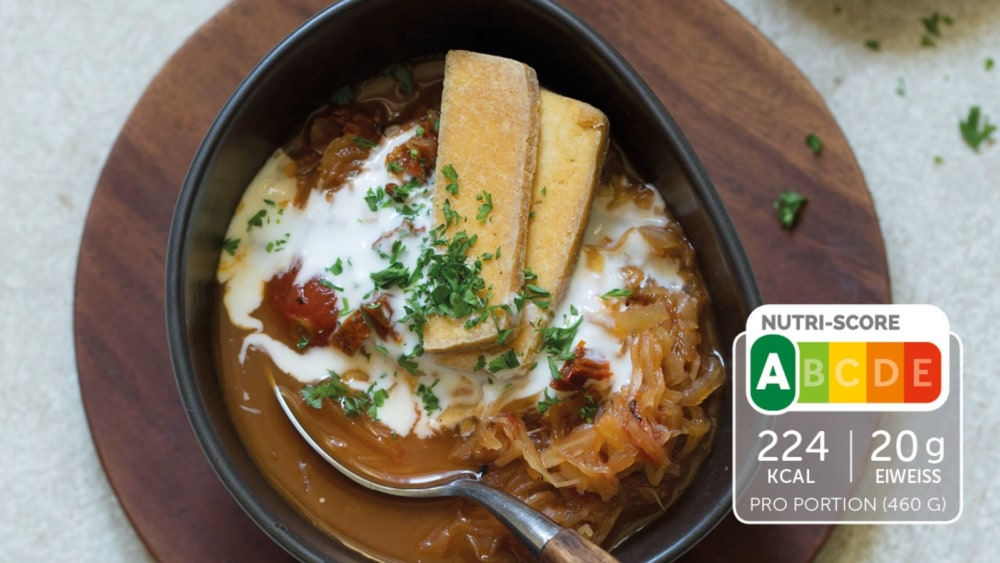 Image of Sauerkraut-Suppe mit Tofu