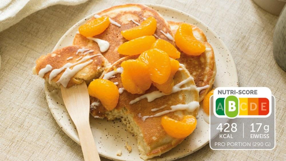 Image of Selbstgemachte Kokos Pancakes