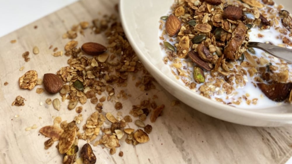 Image of Chef Jen's Once a Fortnight Healthy Granola