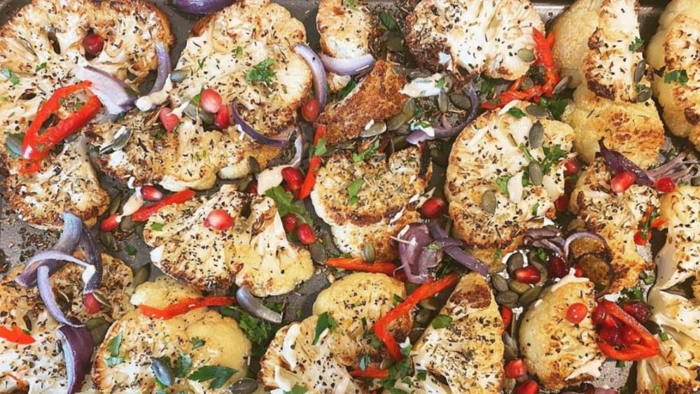 Image of Delicious Roasted Cauliflower