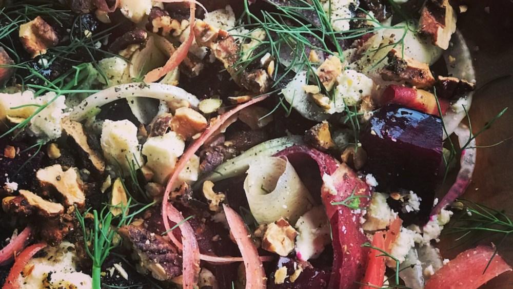 Image of Beet and Walnut Salad