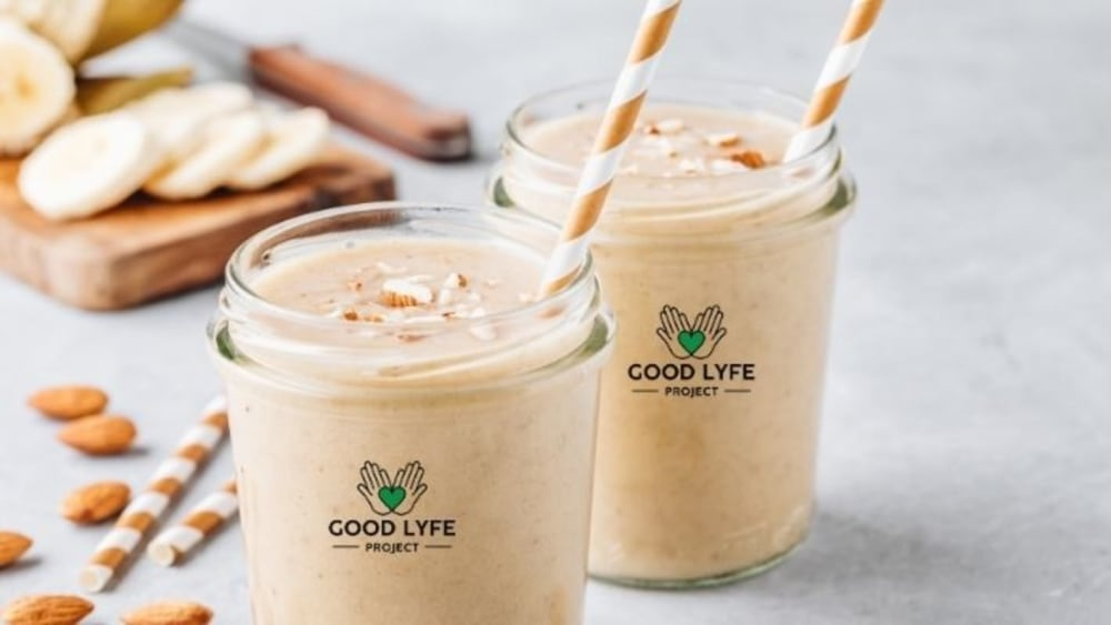 Image of The Best Ever Ashwagandha Chocolate Almond Smoothie