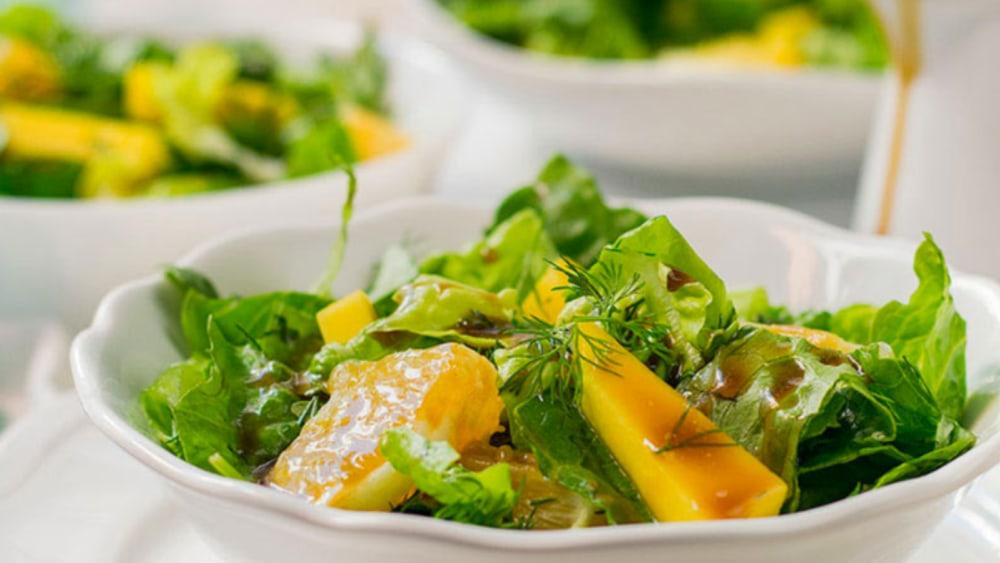 Image ofSummer Salad - Mango, Orange & Dill