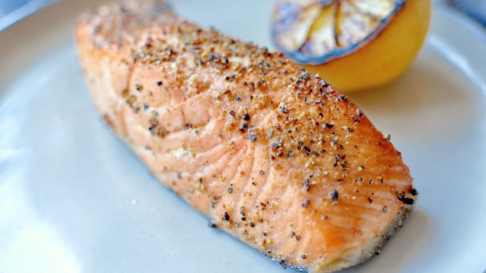 Image of Easy Air Fried Salmon