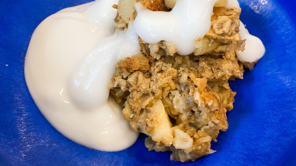 Image of Apple Cinnamon Baked Oatmeal with Plant Protein