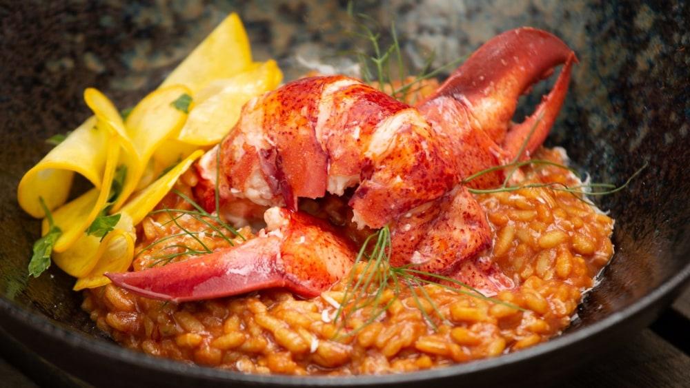 Image of Lobster Saffron Risotto