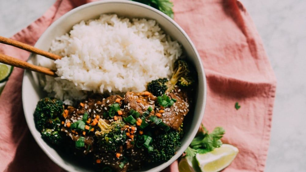 Image of Instant Pot Bone Broth Beef and Broccoli