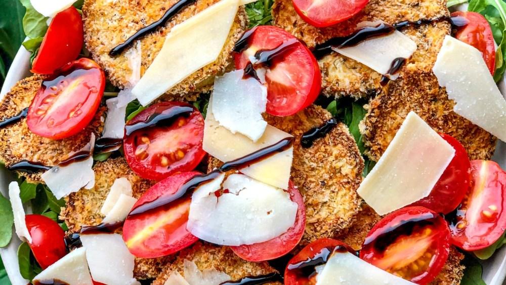 Image ofEggplant Milanese Salad