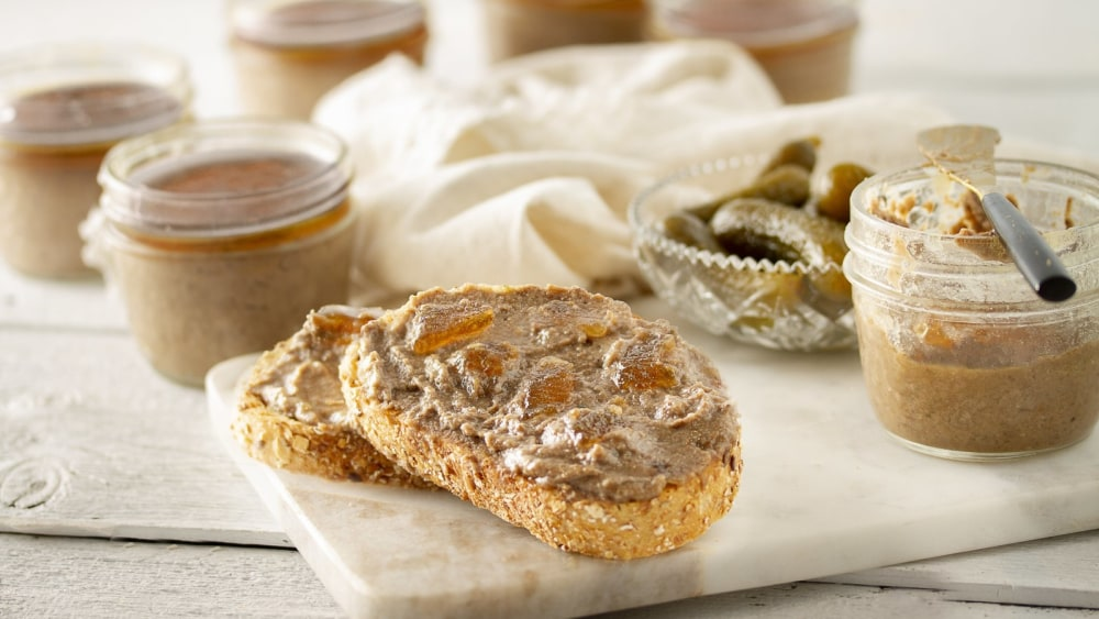 Image of Terrine de lentilles, poivre et ciboulette