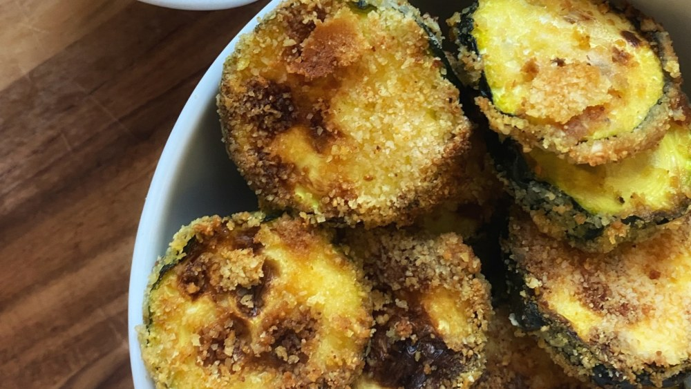 Image of Easy Air Fried Zucchini Chips