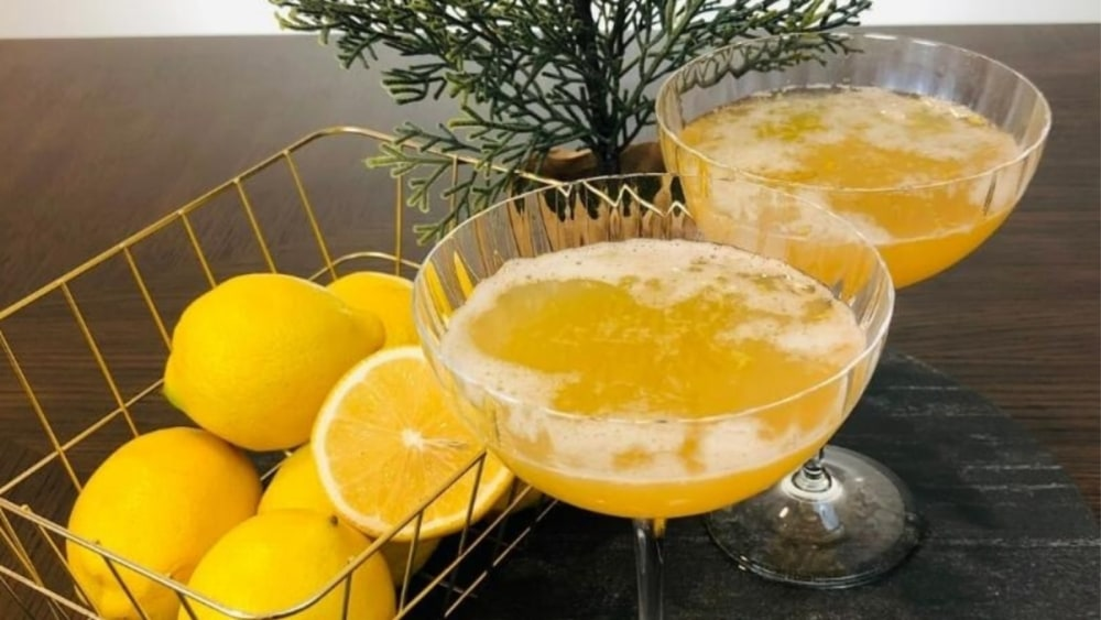 Image of Non-Alcoholic Whiskey Sour Cocktail Recipe