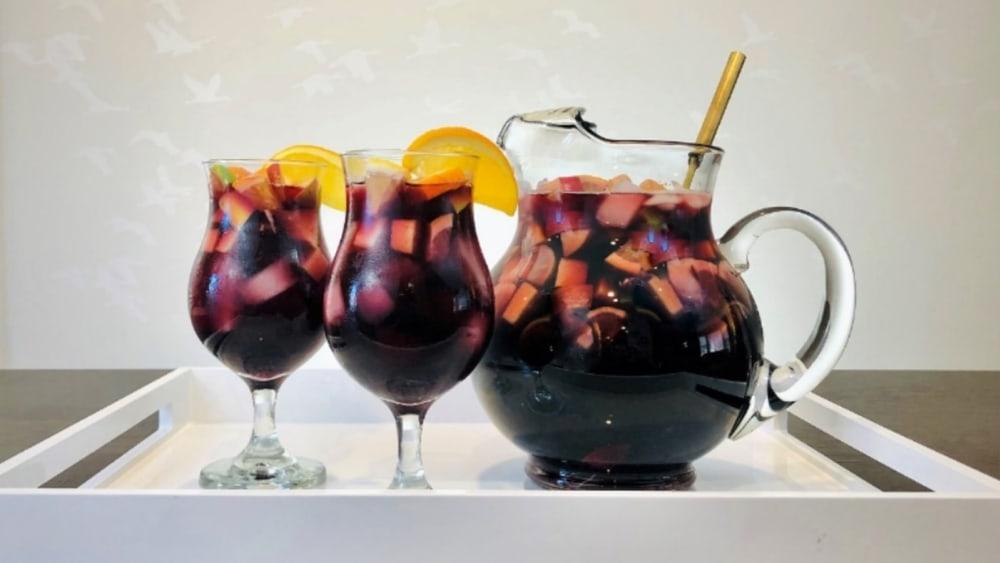 Image of Non-Alcoholic Sangria Recipe