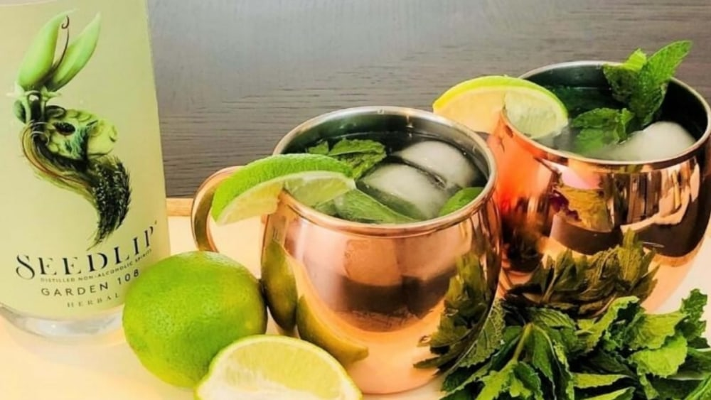 Image of Non-Alcoholic Moscow Mule Recipe
