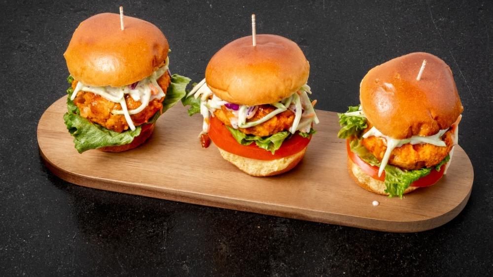 Image of Buffalo Bean & Chicken Sliders