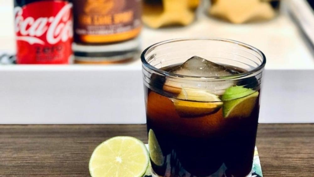 Image of Non-Alcoholic Rum and Coke Recipe