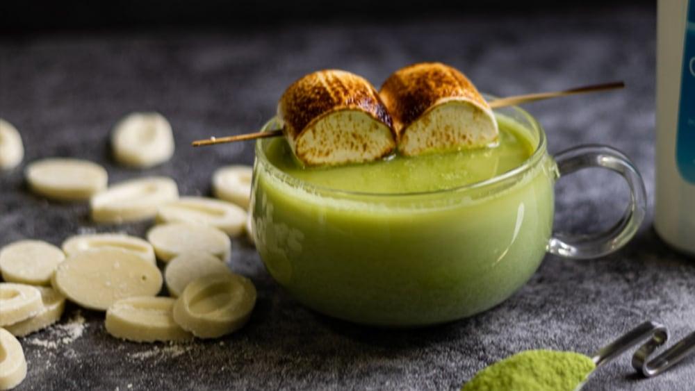 Image of Matcha Hot Chocolate