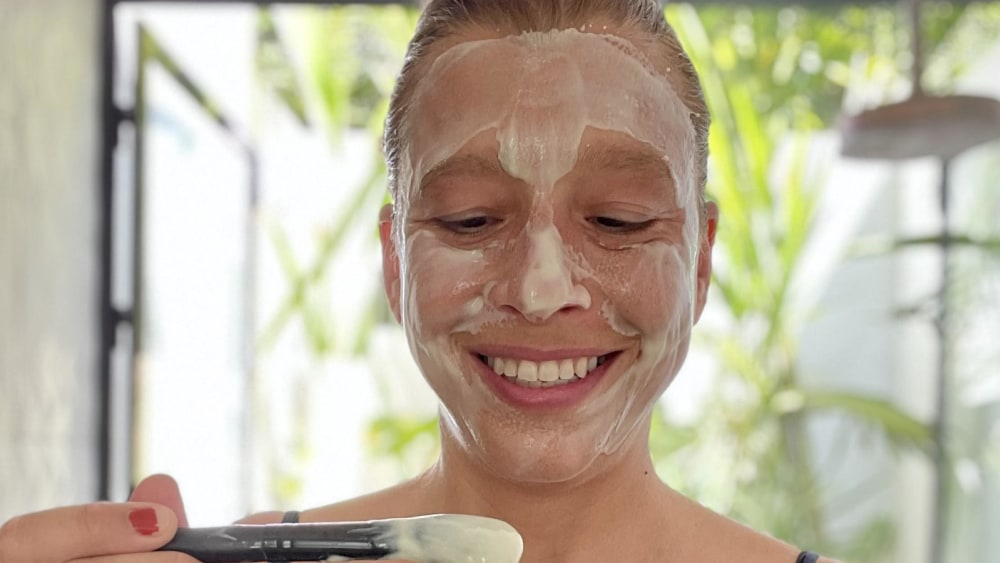 Image of Olive Oil & Honey Face Mask