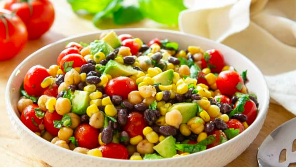 Image ofSweetcorn, Avocado and Bean Salad