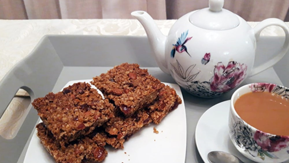 Image of Vegan and Rich Flapjack
