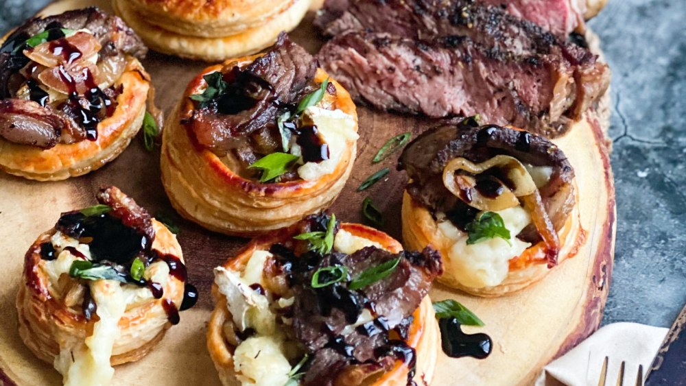 Image ofSteak & Brie Towers