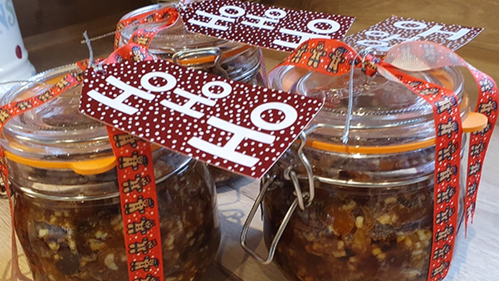Image of Boozy and flavourful Mincemeat in a Jar