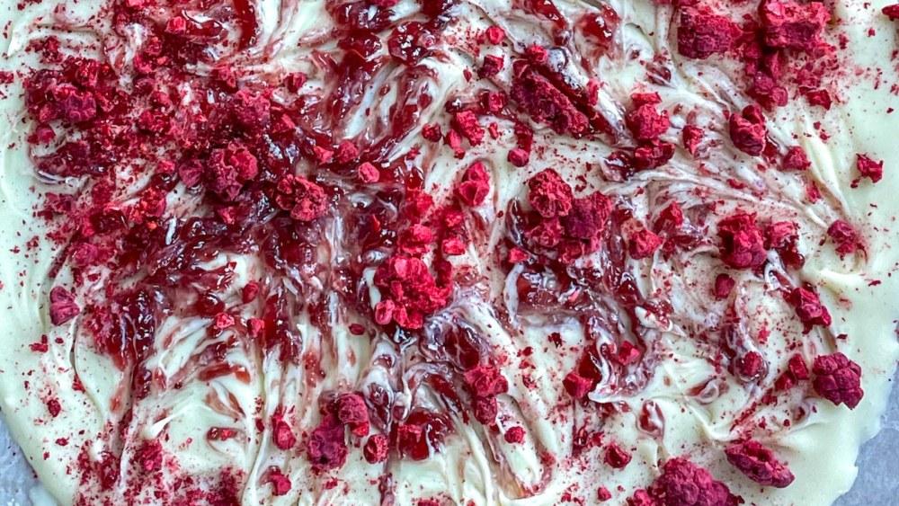Image ofRaspberry White Chocolate Bark