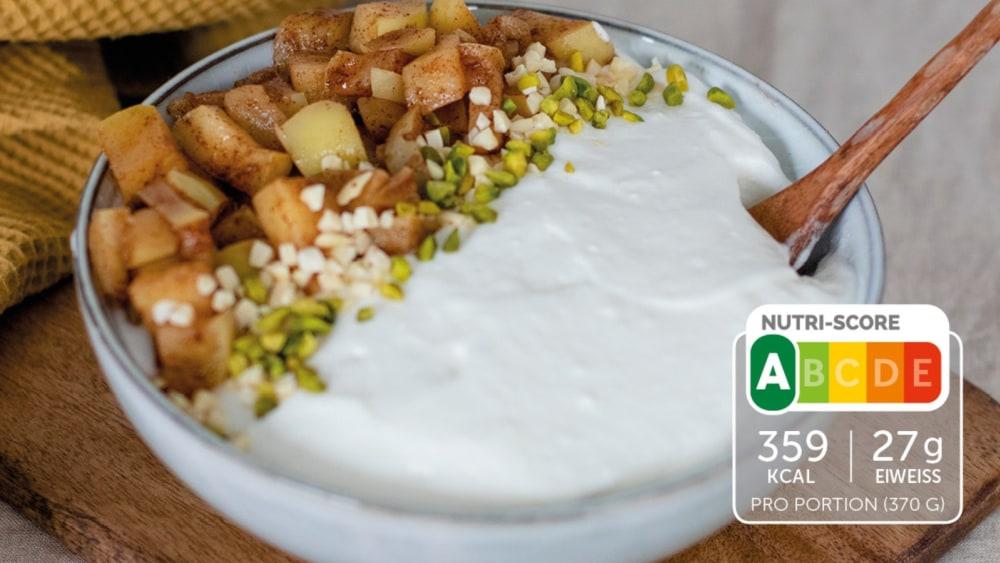 Image of Apfel-Zimt-Fluff-Bowl