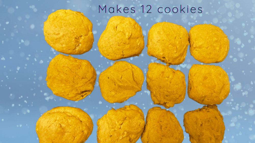 Image of Maple Glazed Pumpkin Cookies