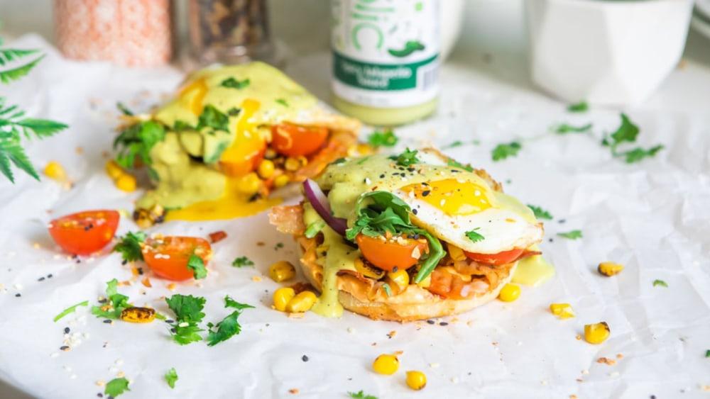 Image of Jalapeño Eggs Benedict