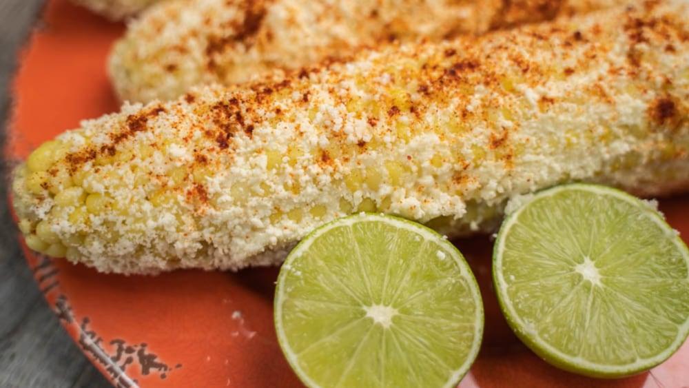 Imagen de maíz mexicano estilo callejero