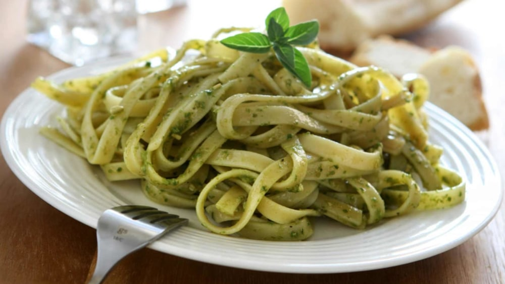 Image of Northern Italian Linguine with Pesto Genovese