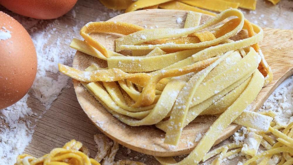 Image of  Homemade Italian Egg-Based Pasta
