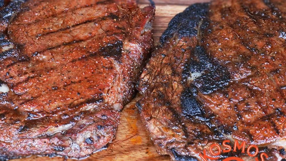 Image of Regular vs. Reverse Seared Steak