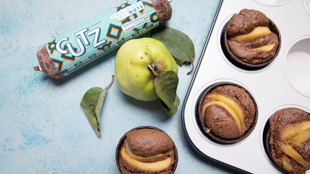 Image of QUINCE AND NUTS MUFFINS