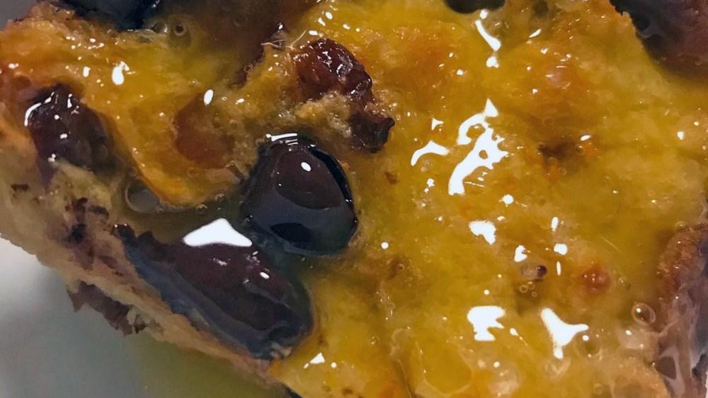 Image ofChocolate & Orange Panettone Bread Pudding