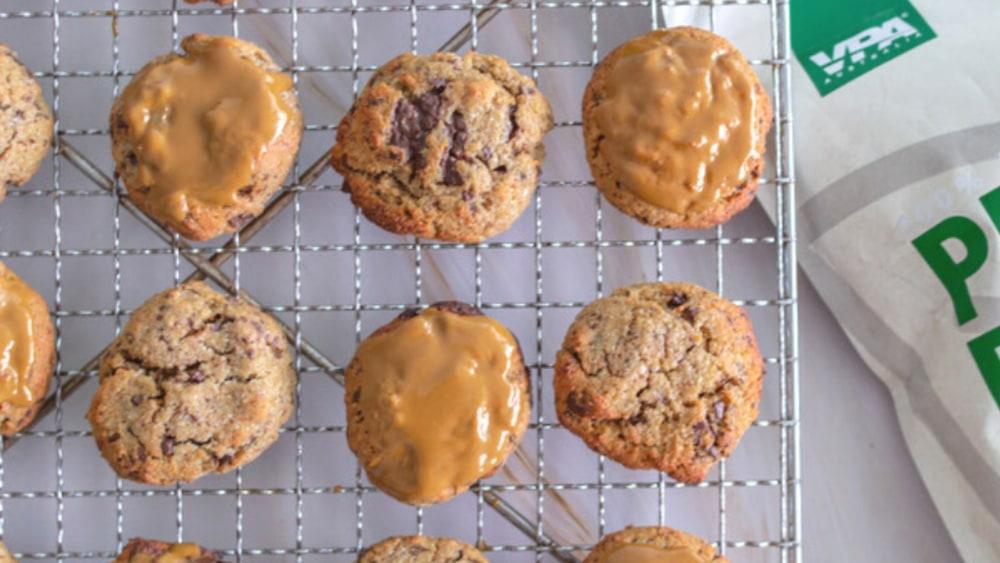 Image of Vegan Chocolate Chip Protein Cookies