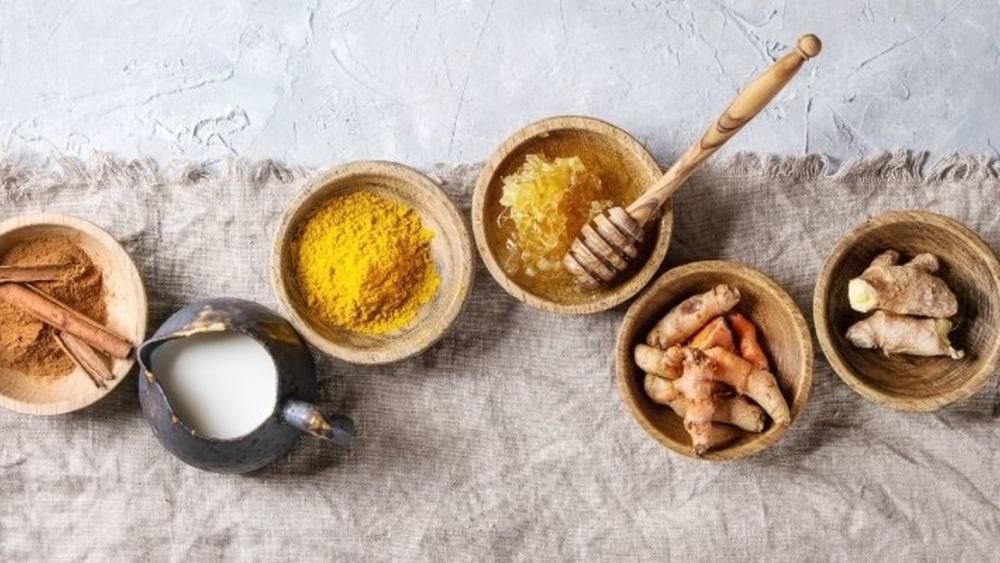 Image of Delightful Golden Turmeric Latte