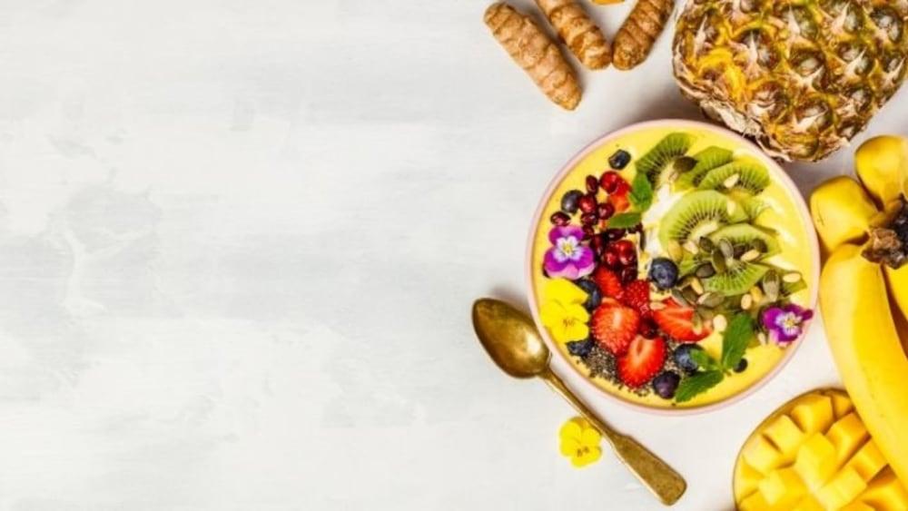 Image of Vibrant Sunny Turmeric Smoothie Bowl