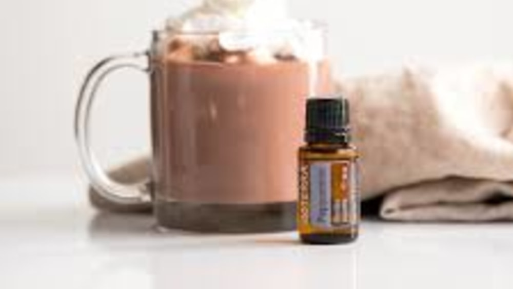 Image of Hot Cocoa with Essential Oils