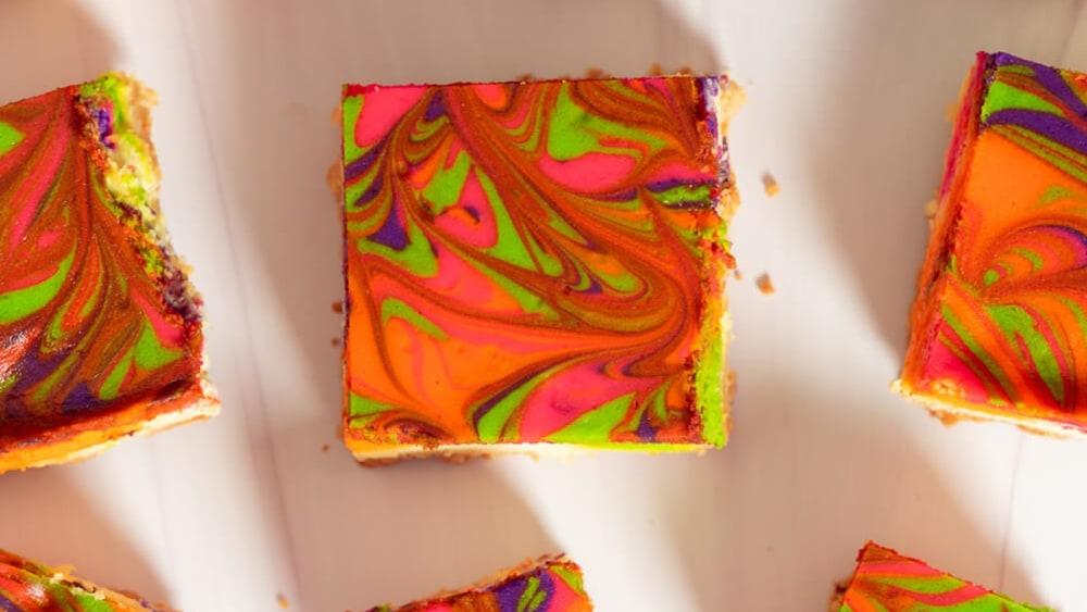 Image of Infused Sugar Cheesecake Bars