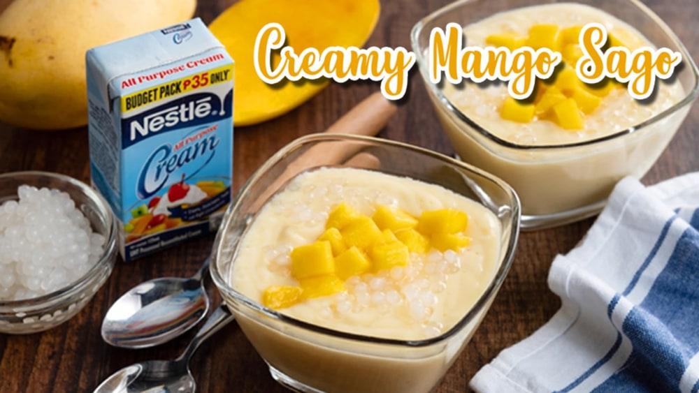 Image of Nestle Creamy Mango Sago
