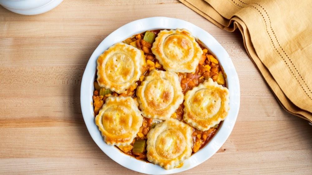 Image of Buffalo Bean Chicken Pot Pie