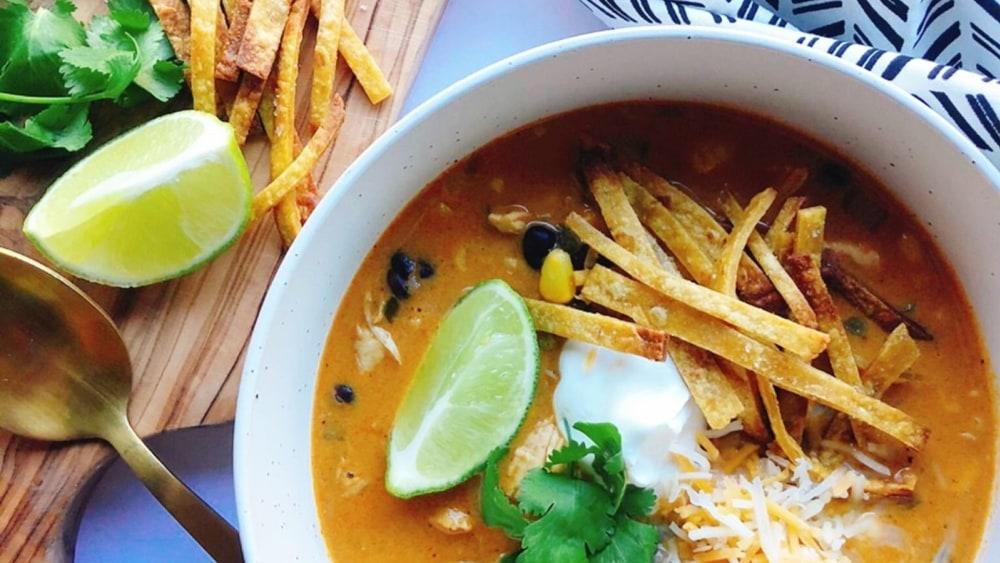 Image ofChicken Enchilada Soup