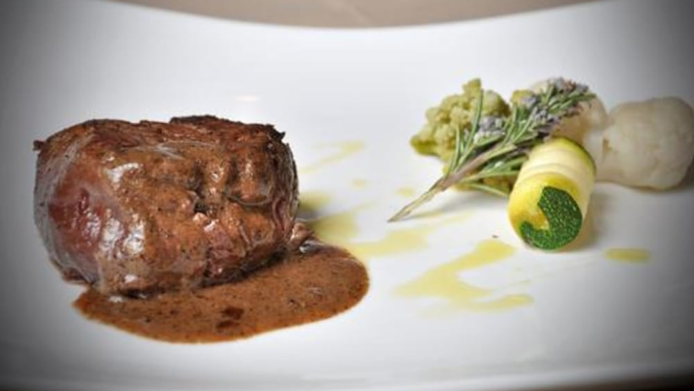 Image of BABY BEEF & BLACK MINCED TRUFFLES