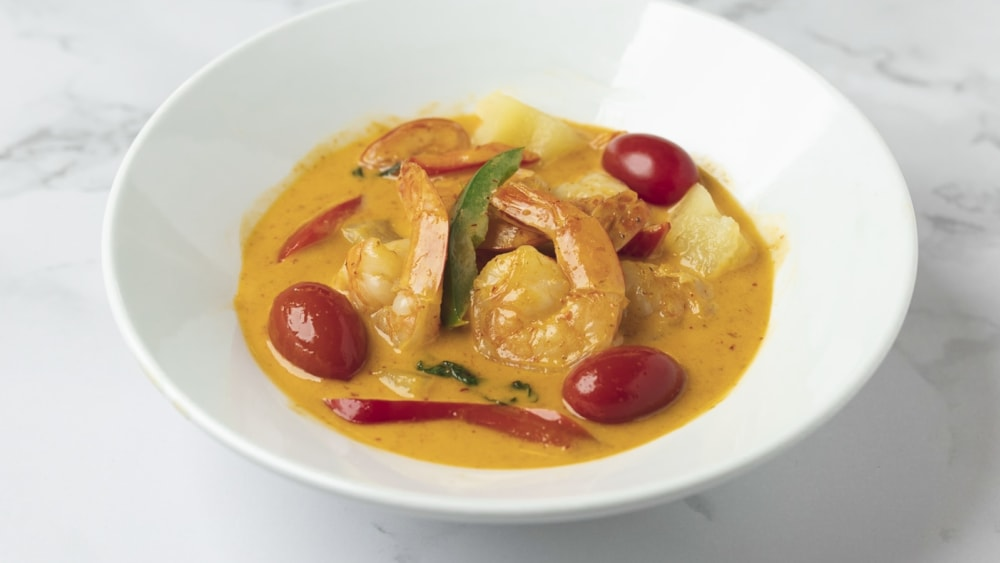 Image of Red Curry Chicken (Beef, Shrimp)