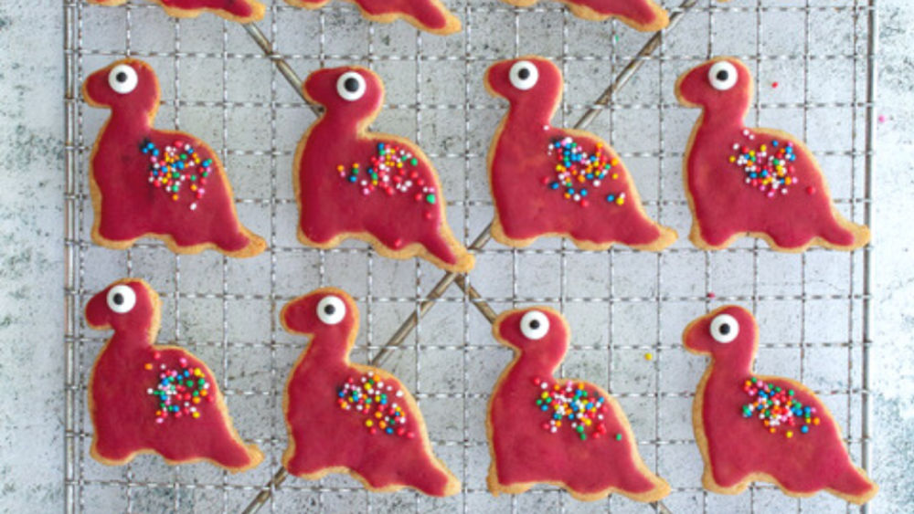 Image of Dinosaur 'Shortbread' Biscuits