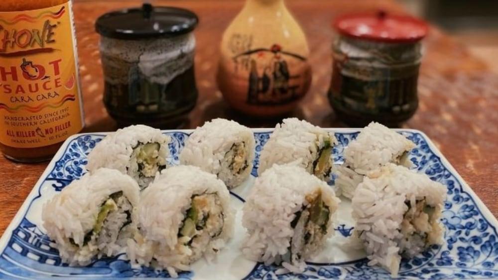 Image of Box Crab Sushi Rolls