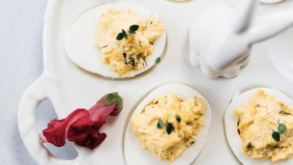 Image of Herbed Deviled Eggs