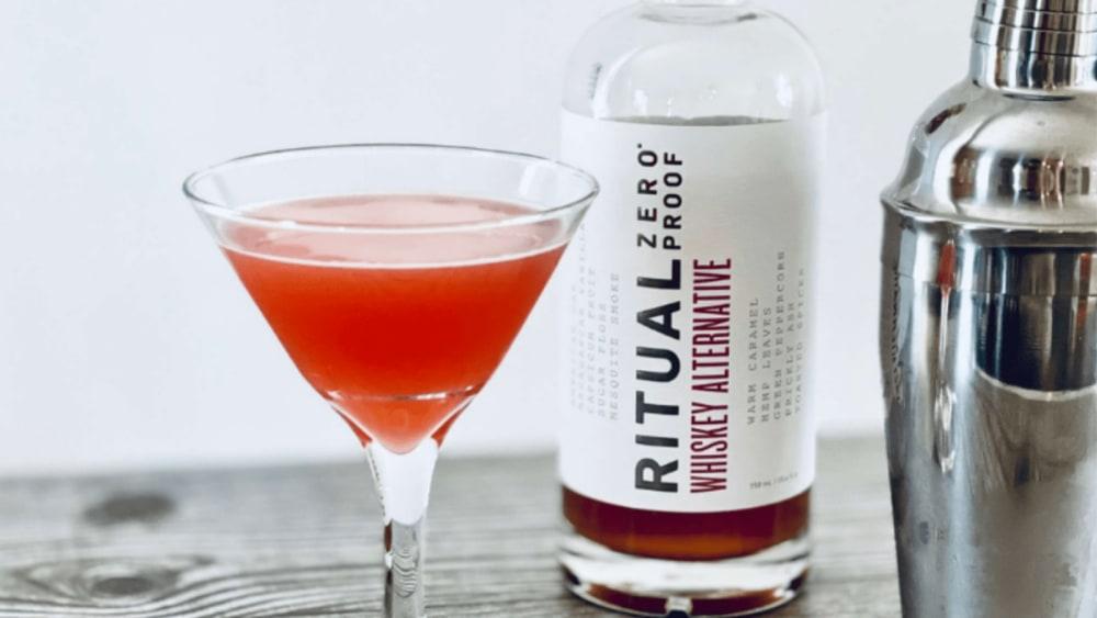 Image of Ritual Zero Proof Non-Alcoholic Whiskey Blinker Recipe